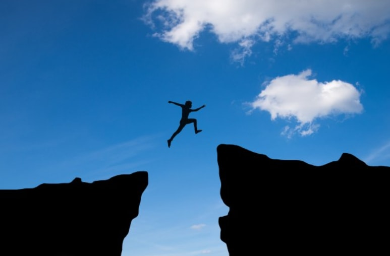 skok sa jednog brda na drugo